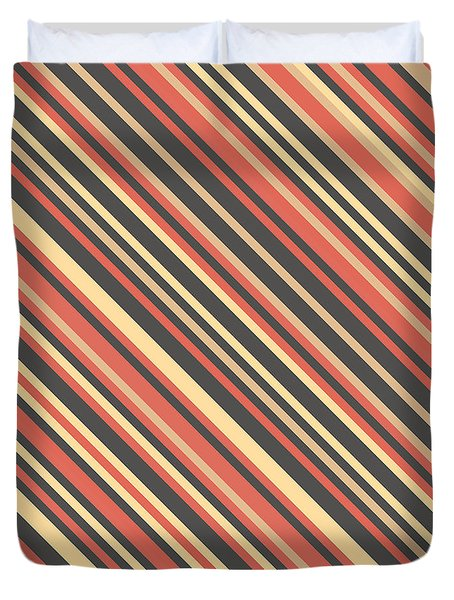 Striped Pattern Duvet Cover