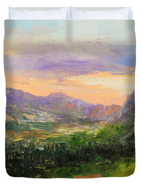 Tatry Mountains- Poland Duvet Cover