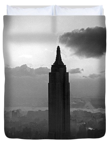 The Empire State Building Duvet Cover