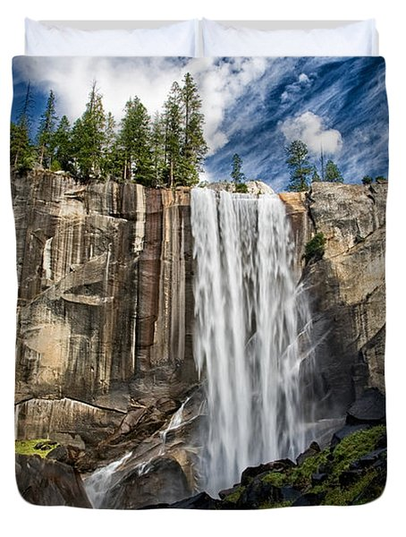 Vernal Falls Duvet Cover