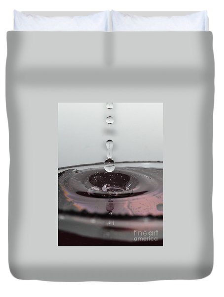 4 Water Drops Duvet Cover