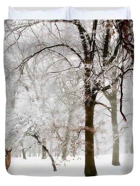 Winter's Breath Duvet Cover