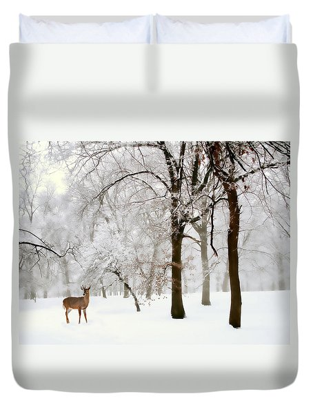 Winter's Breath Duvet Cover