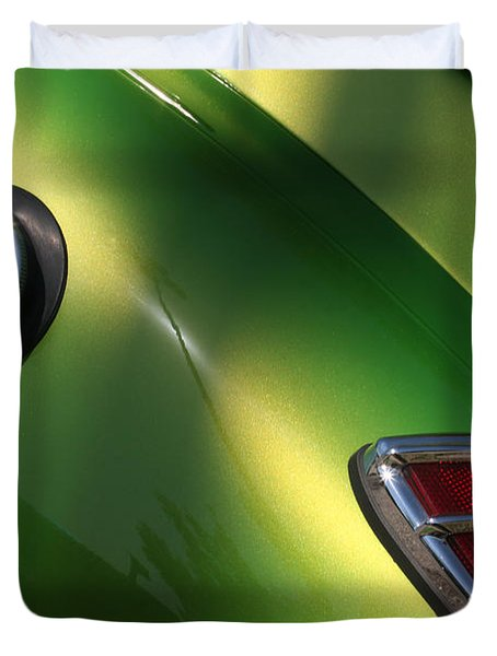 40 Ford - Tank N Tail Light-8527 Duvet Cover by Gary Gingrich Galleries