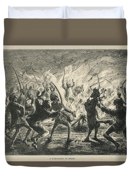Semipalmated Sandpipers Duvet Cover by Yva Momatiuk John Eastcott