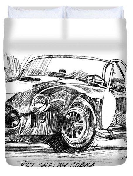 427 Shelby Cobra Duvet Cover