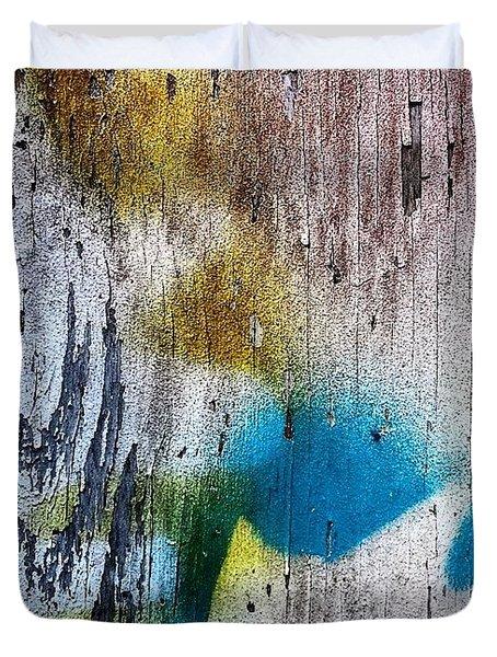 Wooden Wall 3 Duvet Cover