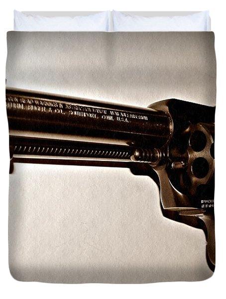 44 Magnum Duvet Cover