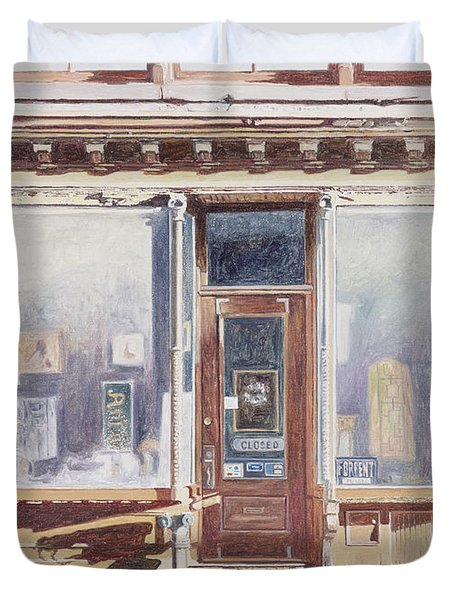 471 West Broadway Soho New York City Duvet Cover by Anthony Butera
