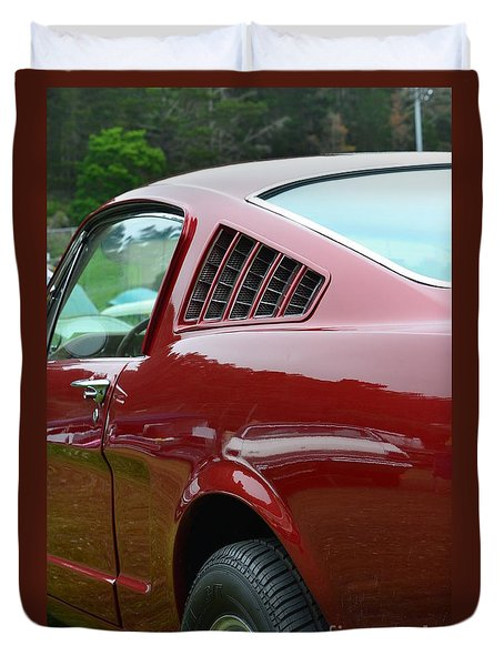 Classic Mustang Duvet Cover