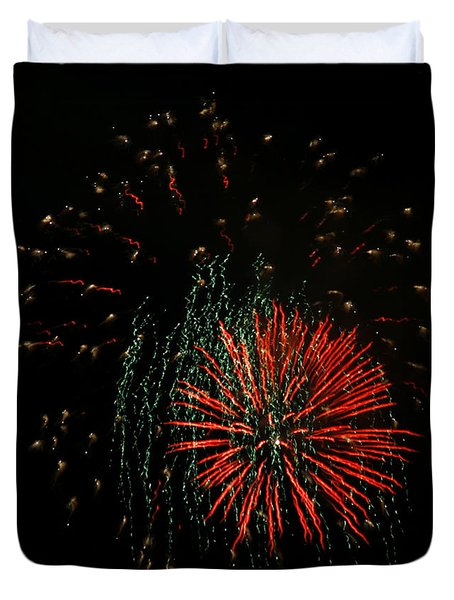 4th Of July 5 Duvet Cover by Marilyn Hunt