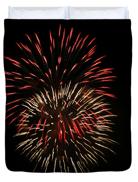 4th Of July 6 Duvet Cover by Marilyn Hunt