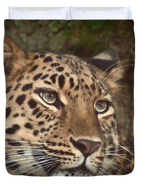 Amur Leopard Duvet Cover