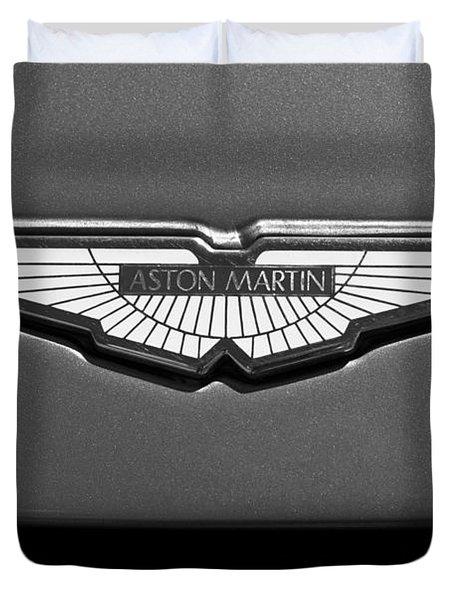 Aston Martin Emblem Duvet Cover