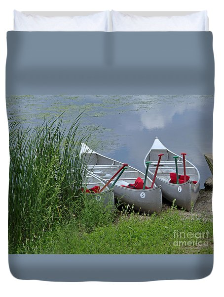 At Waters Edge Duvet Cover