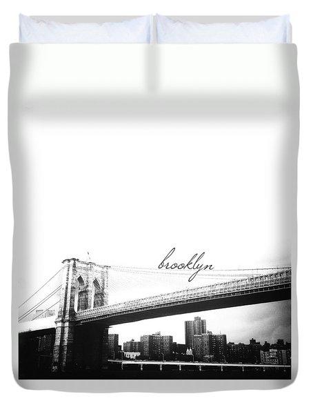 Brooklyn Duvet Cover by Natasha Marco