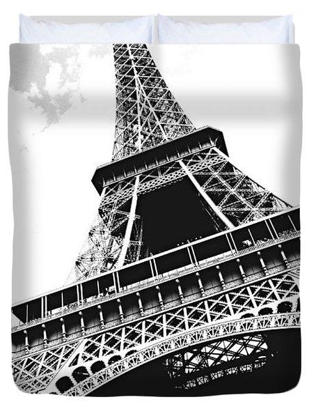 Eiffel Tower Duvet Cover by Elena Elisseeva