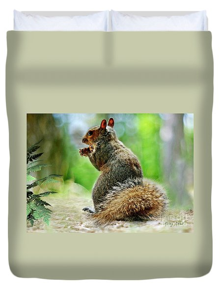 Harry The Squirrel Duvet Cover
