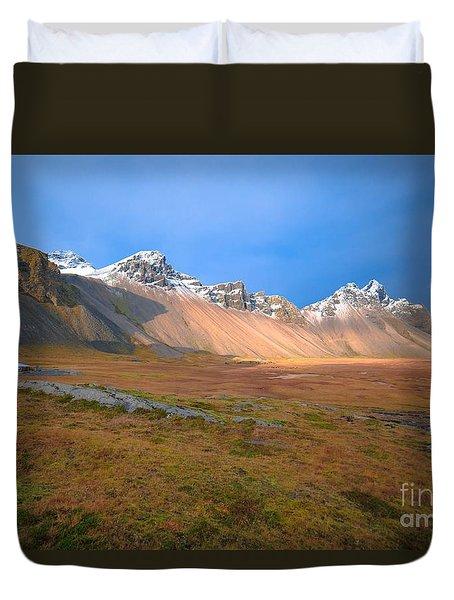 Iceland Duvet Cover