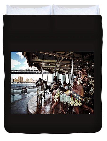 Jane's Carousel Duvet Cover