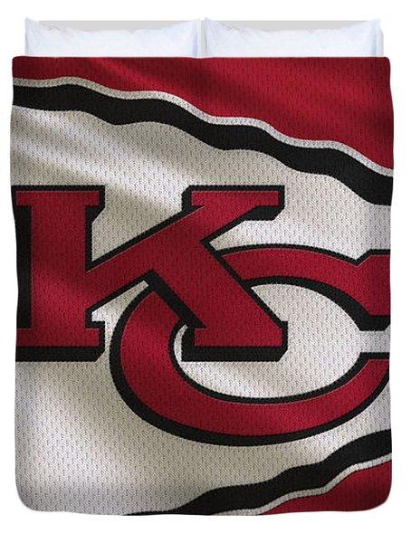 Kansas City Chiefs Uniform Duvet Cover