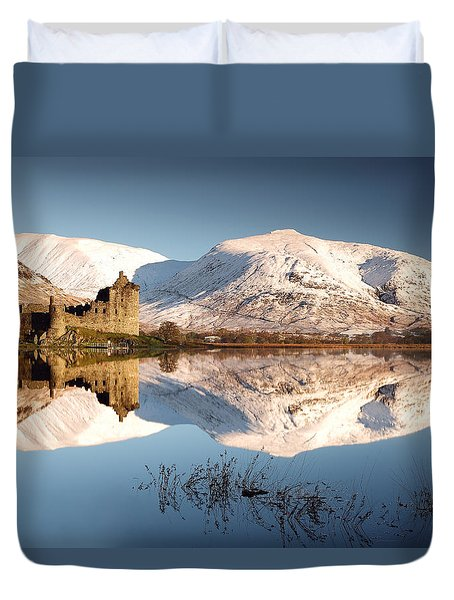 Duvet Cover featuring the photograph Loch Awe by Grant Glendinning