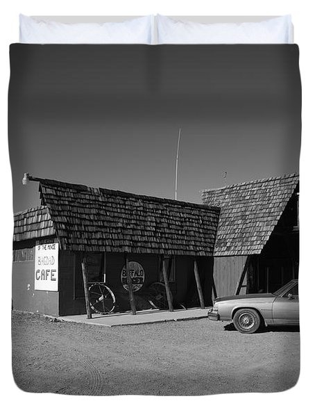 Route 66 - Bagdad Cafe Duvet Cover by Frank Romeo