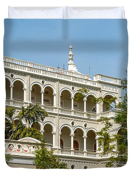 The Aga Khan Palace Duvet Cover