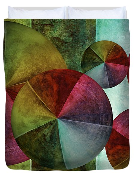 5 Wind Worlds Duvet Cover