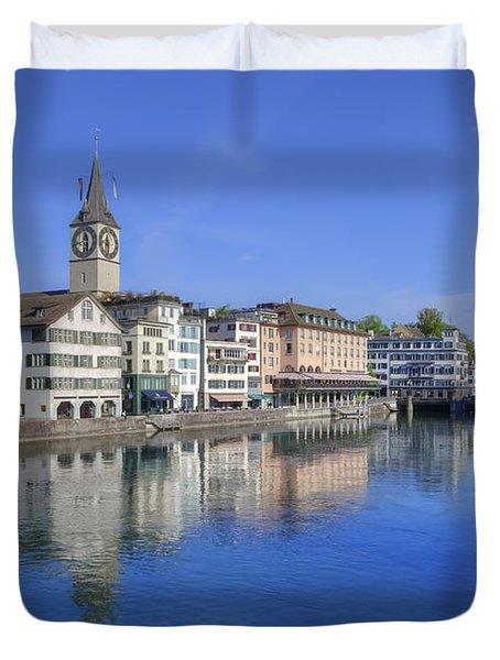 Zurich Duvet Cover by Joana Kruse