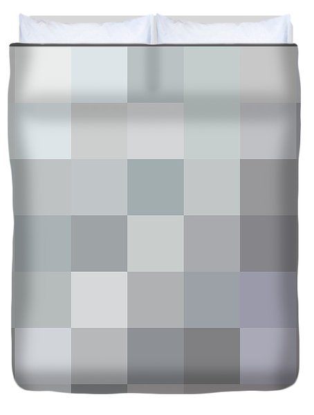 50 Shades Of Grey Duvet Cover by Richard Reeve