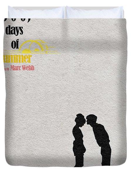 500 Days Of Summer Duvet Cover