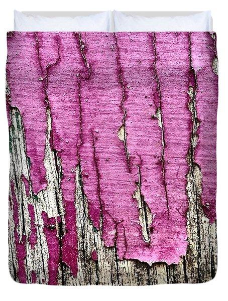 Flaky Paint 2 Duvet Cover