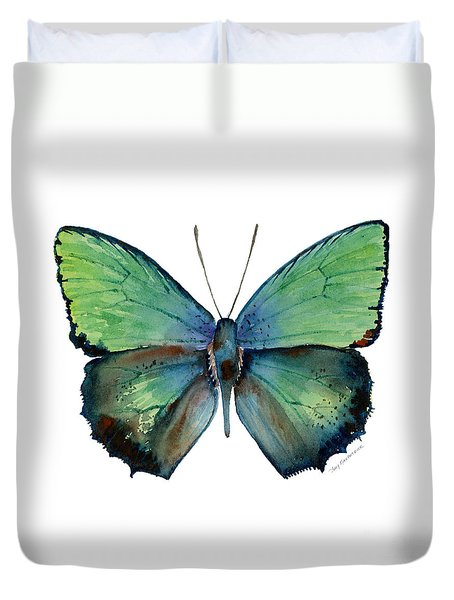 52 Arhopala Aurea Butterfly Duvet Cover
