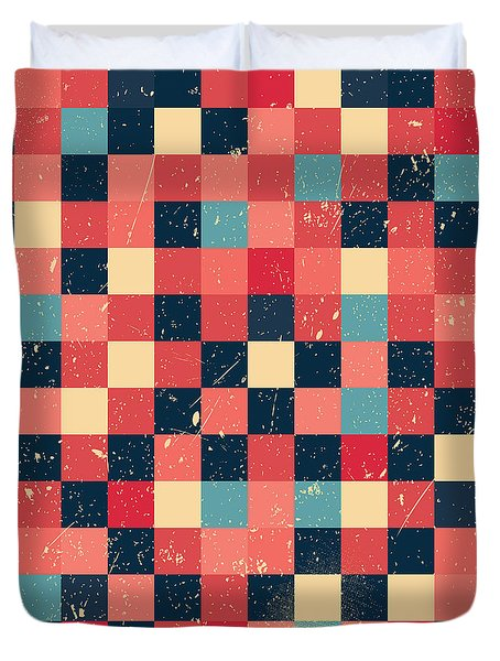 Pixel Art Duvet Cover