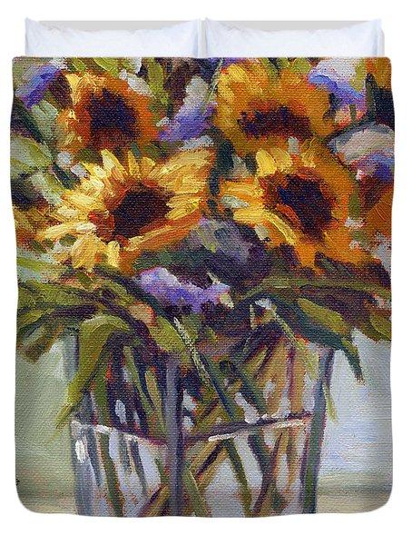Summer Bouquet 4 Duvet Cover