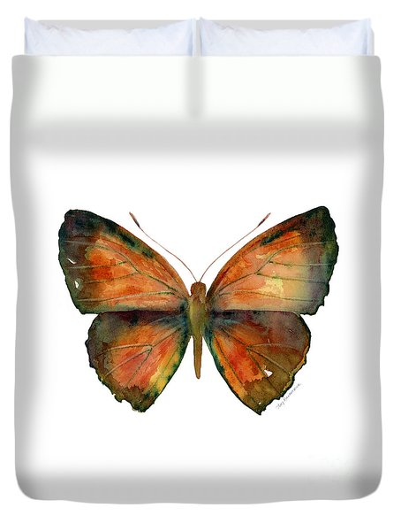 56 Copper Jewel Butterfly Duvet Cover