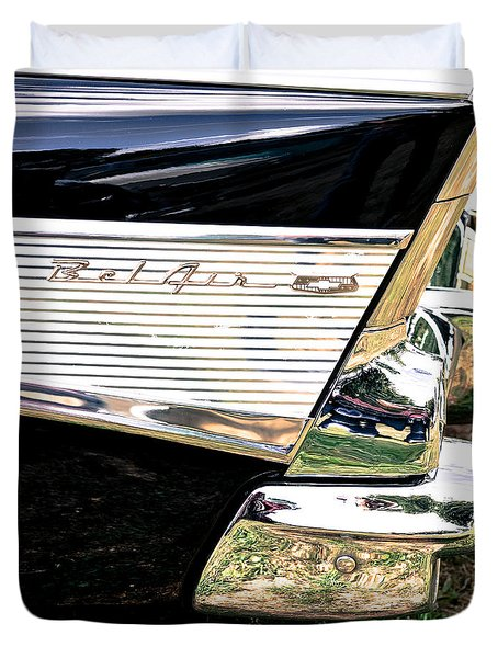 '57 Chevy Bel Air Duvet Cover