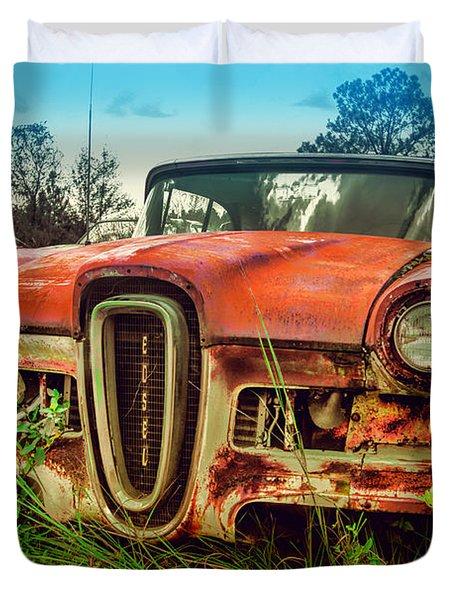 58 Edsel Duvet Cover