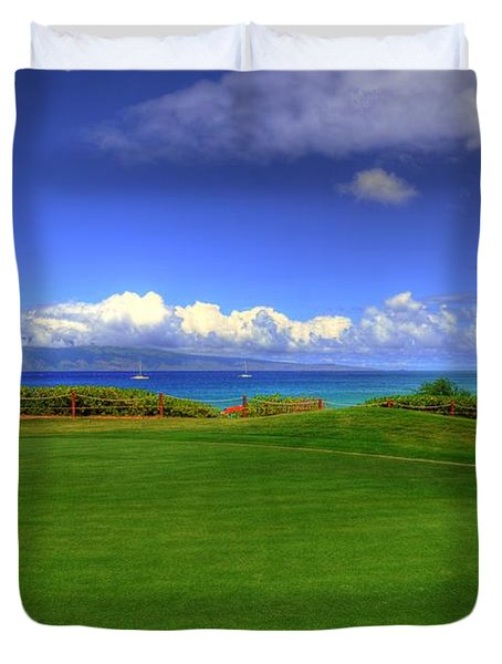 5th Hole Duvet Cover