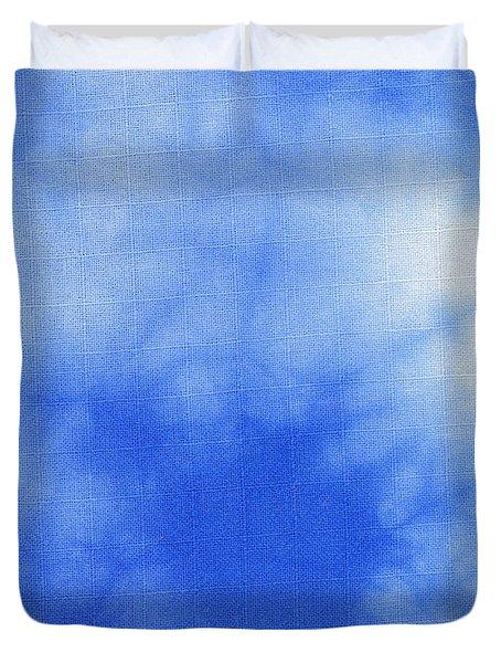 Abstract Batik Pattern Duvet Cover by Kerstin Ivarsson