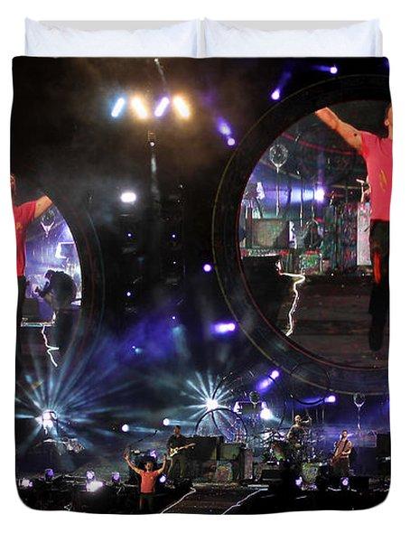 Coldplay - Sydney 2012 Duvet Cover
