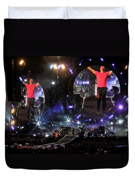 Coldplay - Sydney 2012 Duvet Cover