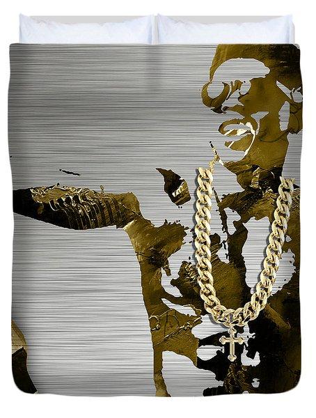 Empire's Bryshere Gray Hakeem Duvet Cover by Marvin Blaine