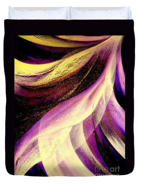 Light Dance Duvet Cover