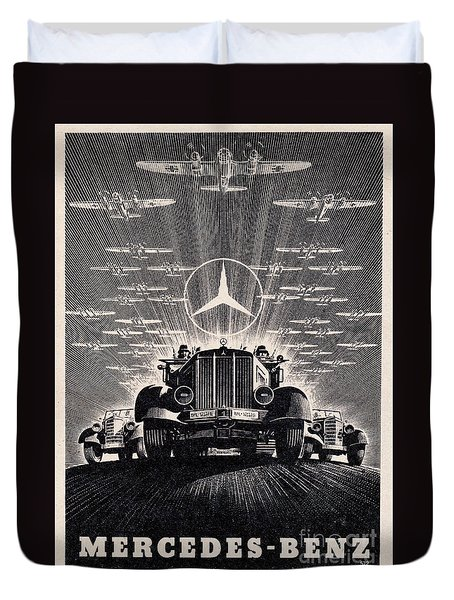 Mercedes - Benz Duvet Cover