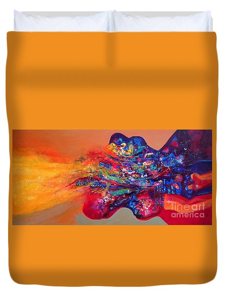 Morning Glory Sold Out Duvet Cover