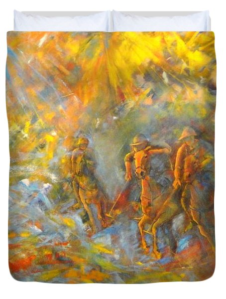 Poloplayer II Duvet Cover