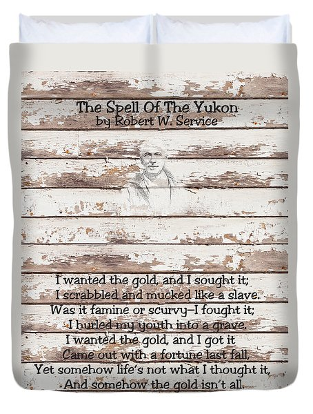 Spell Of Yukon Duvet Cover