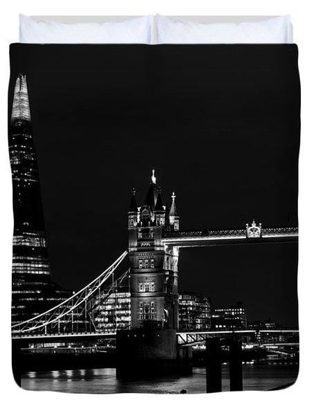 The Shard And Tower Bridge Duvet Cover